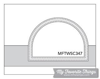 Sketch Challenge 347 #mftstamps