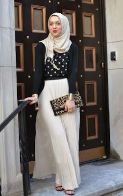 desain baju muslim untuk kondangan