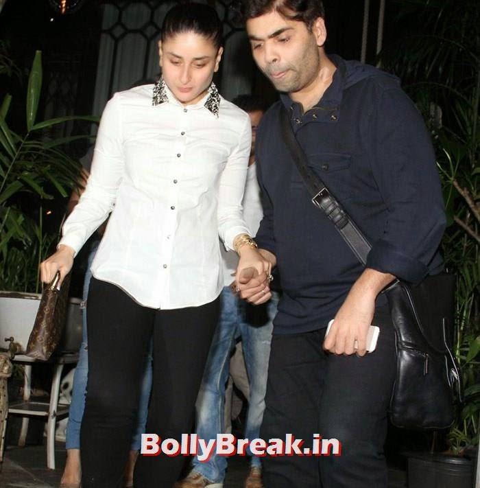 Kareena Kapoor Khan, Karan Johar, Kareena Kapoor, Alvira, Mehr Snapped at Nido