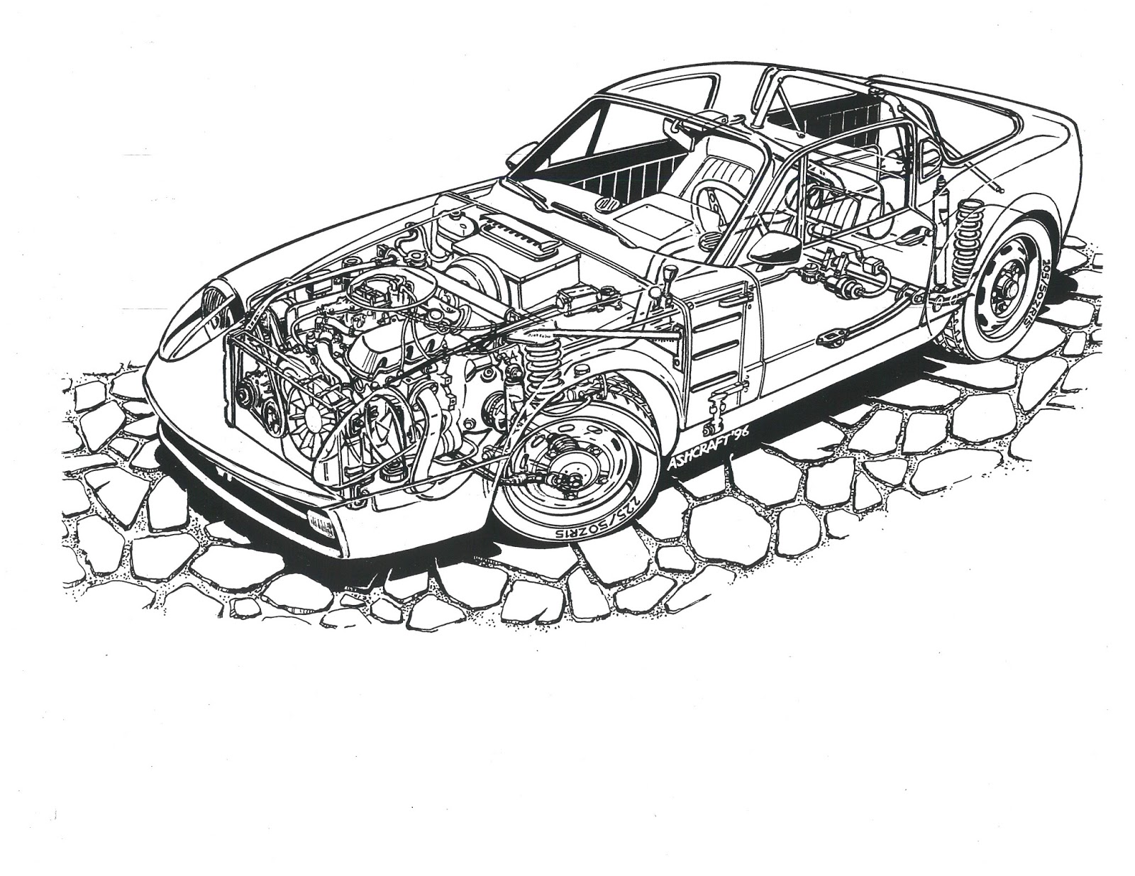 SAAB JOURNAL: JACK ASHCRAFT'S ARTWORK--PHANTOM DRAWINGS