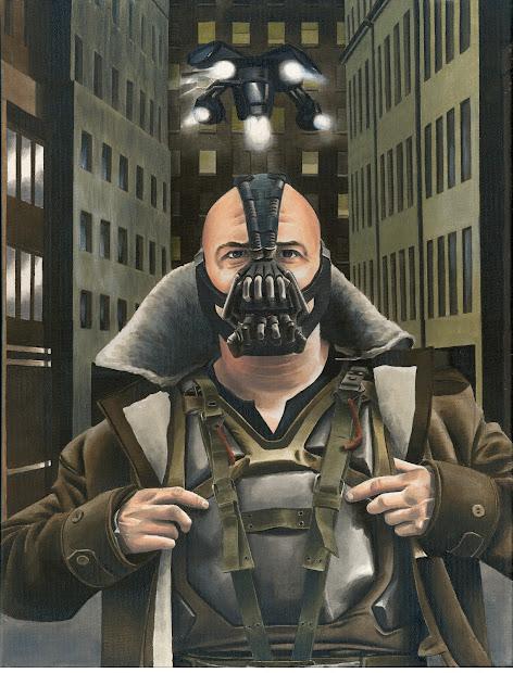 Marc Lewis Art Dark Knight