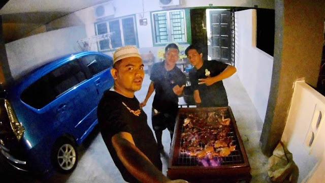 Adni Suite Homestay Seri Manjung || Encik Ahmad - BBQ