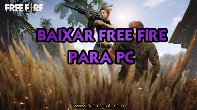 Baixar Free Fire Battlegrounds para PC !!