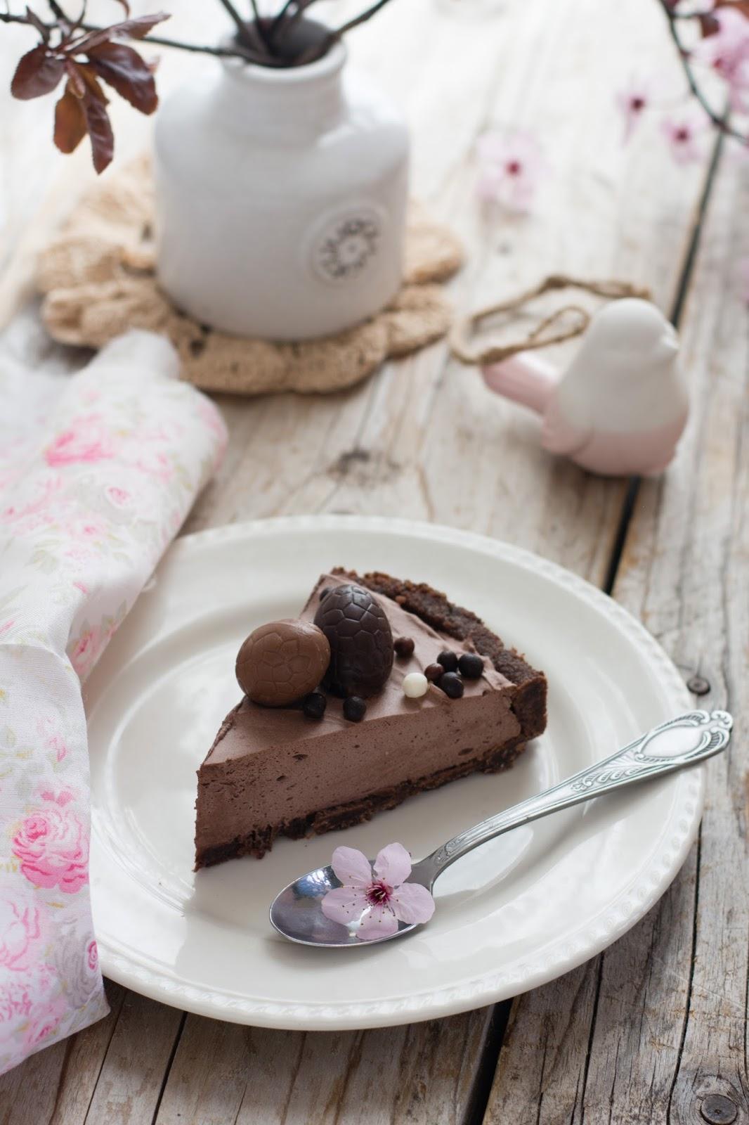 chic chic chocolat tarte au chocolat au baileys. Black Bedroom Furniture Sets. Home Design Ideas