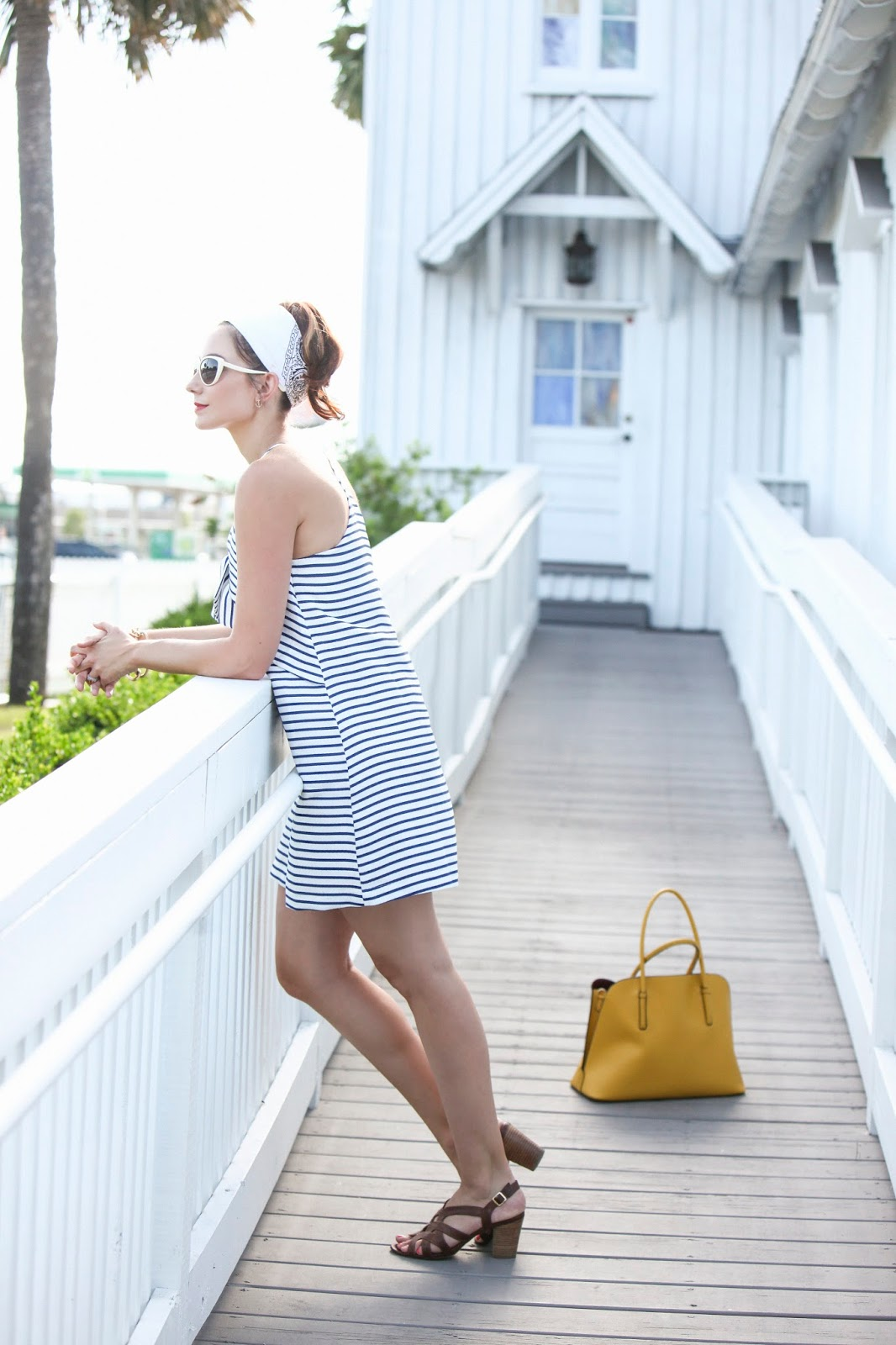 Trendy Nautical Dress by Maeve