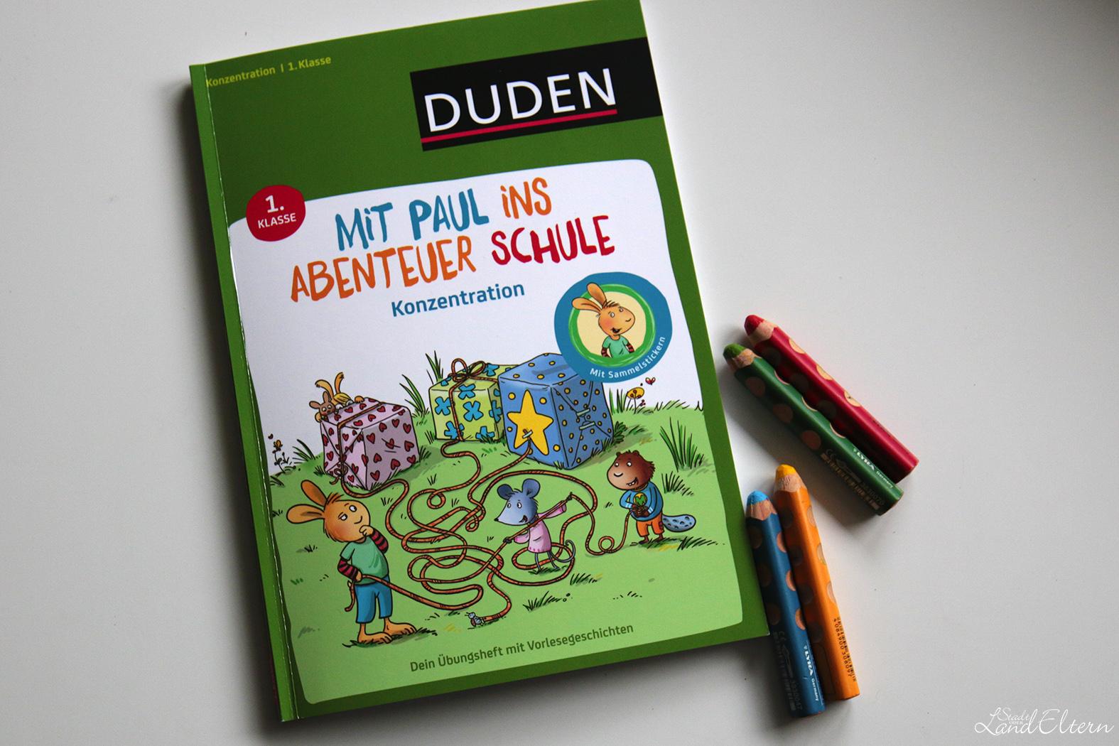 Duden: Mit Paul ins Abenteuer Schule