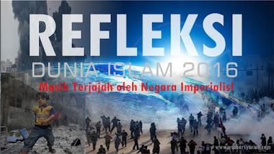 Dunia Islam saat ini  Masih Terjajah oleh Negara Imperialis!