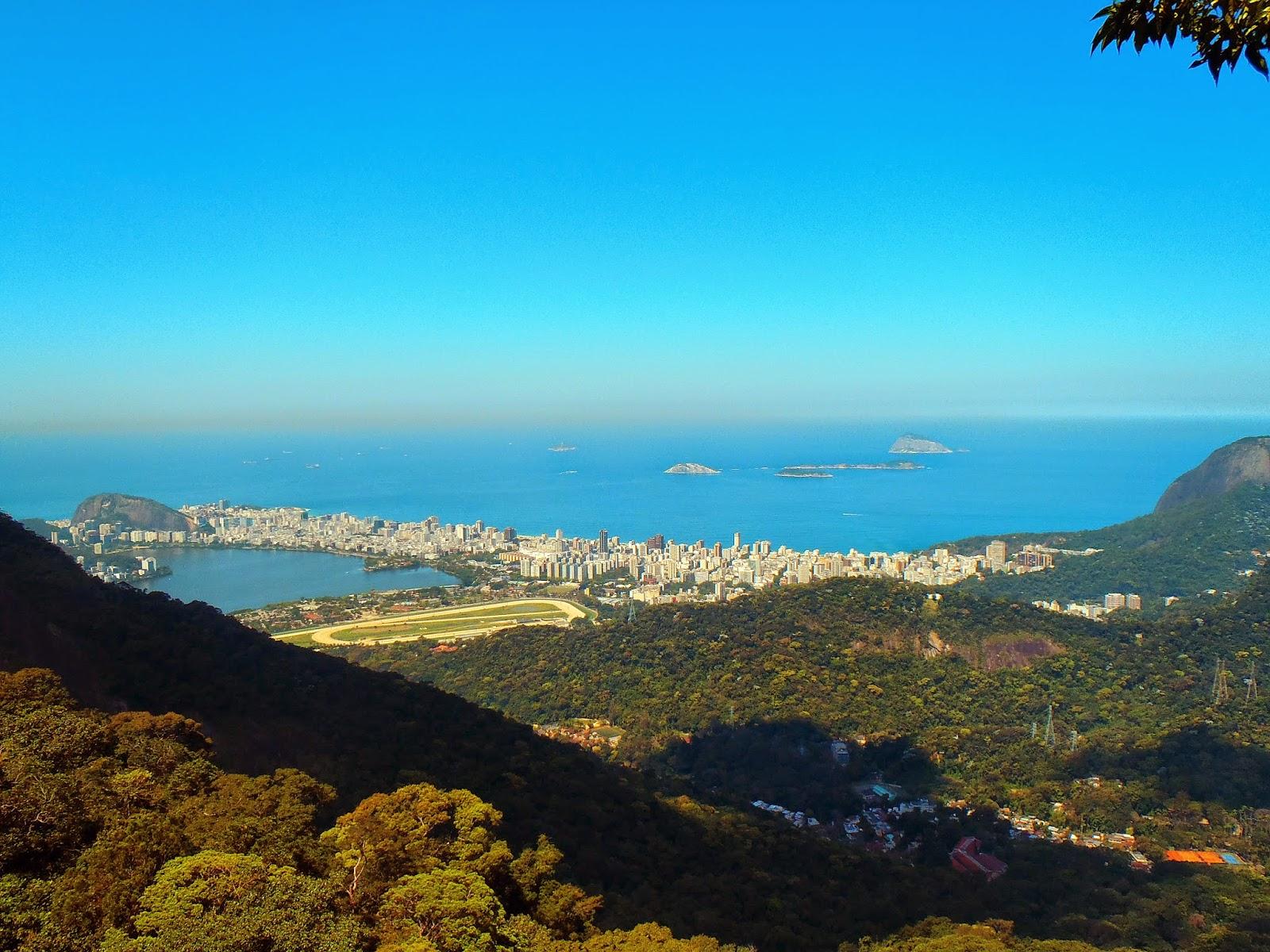 View of Rio de Janeiro from Tijuca National Park