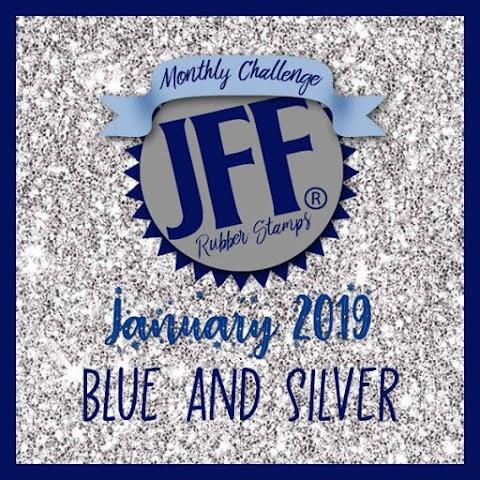 JFF: Blue & Silver
