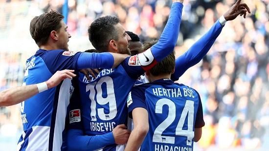 Hertha Berlin đã có bàn mở tỉ số.