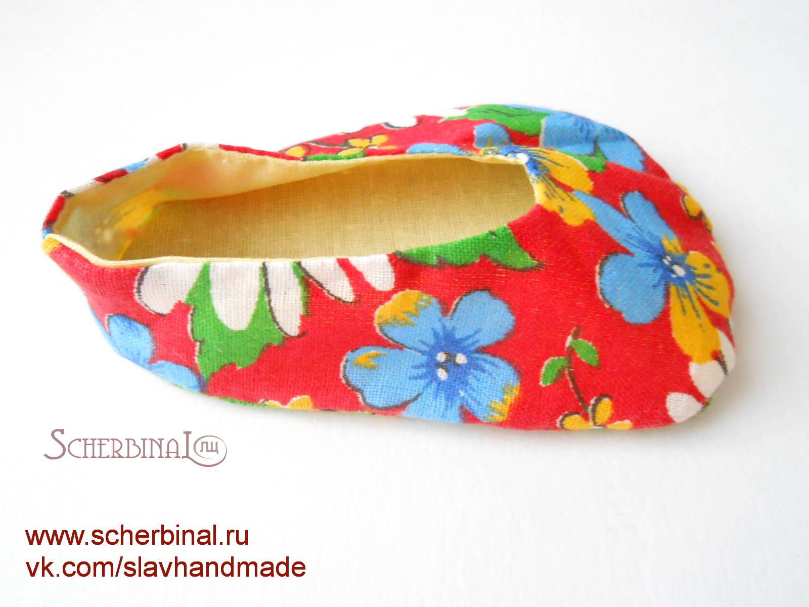 Шьем обувь для куклы мастер класс пошагово #7