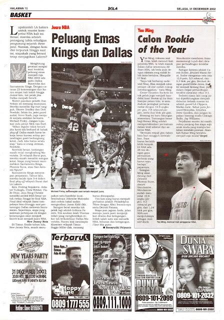 JUARA NBA PELUANG EMAS KINGS DAN DALLAS