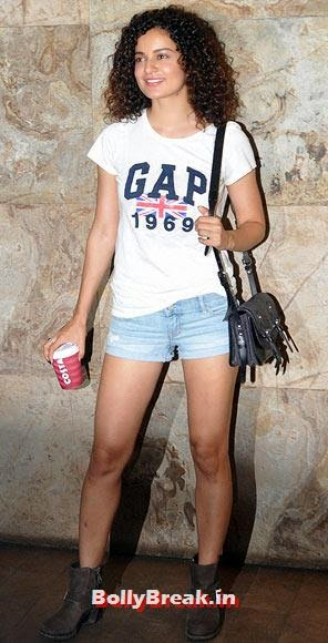 Kangna Ranaut, Bollywood Actresses with Best Legs - Who is it?
