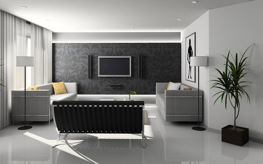 Apartment Clean Condominium Chair Contemporary