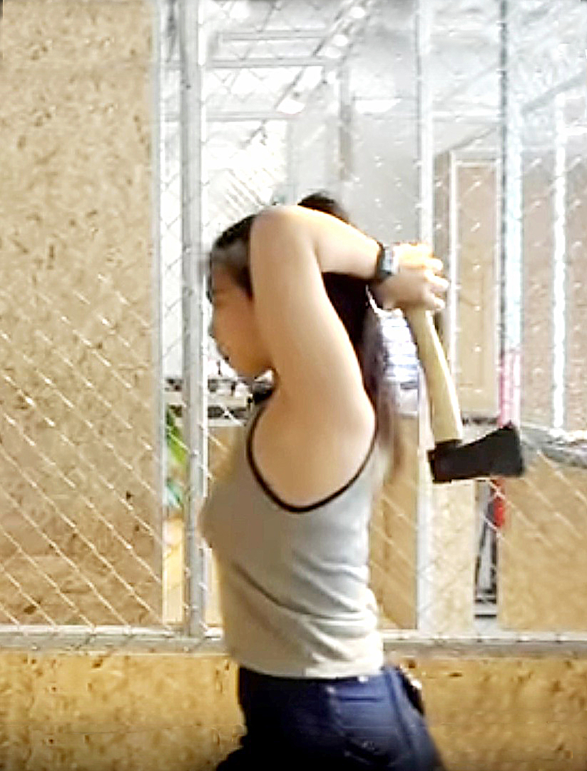 Opened since August 2018, Axe Factor is Singapore's first and only indoor axe-throwing range.