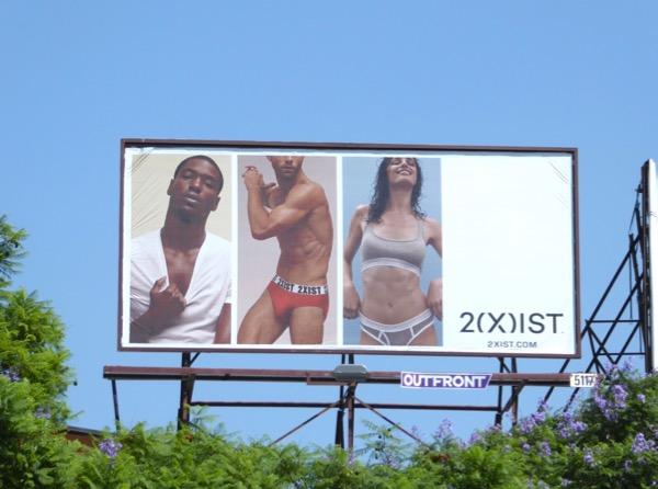 2Xist underwear FW17 billboard