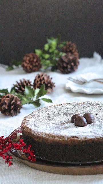 Roasted Chestnut Oreo Cake