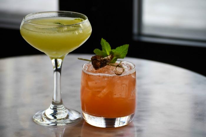 fig & olive cocktails