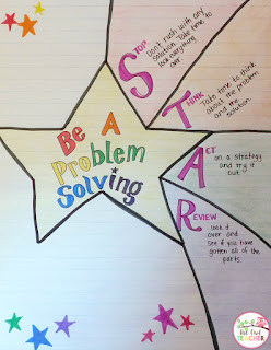 Grab these free math problem solving bookmarks to remind your students of all the critical steps to take when problem solving!