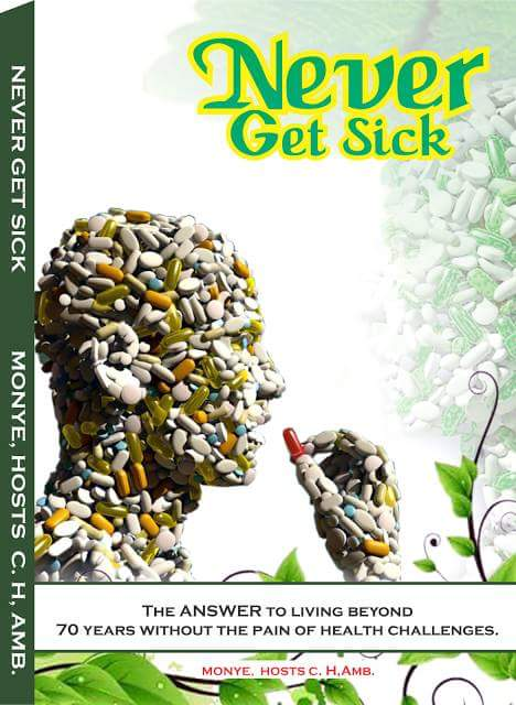 Never Get Sick Book Is Now Available For Sale