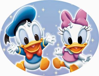 Donald dan Dessy Bebek Kecil.