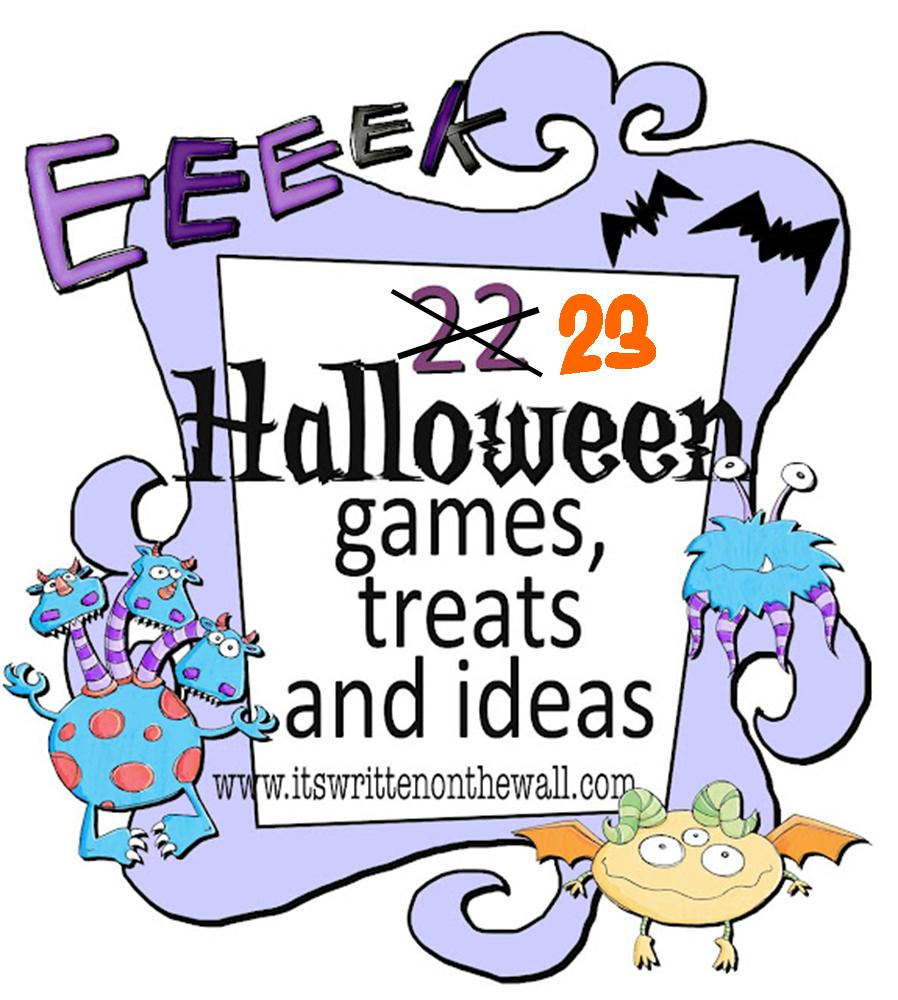 It's Written on the Wall: Indoor Halloween Games, Dinner Menus ...