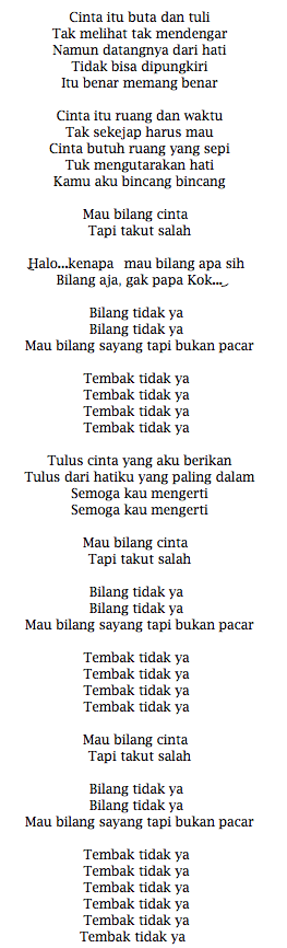 Lirik Lagu Al Ghazali Lagu Galau