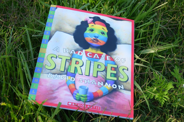 A Bad Case Of Stripes, part of May Reading Roundup