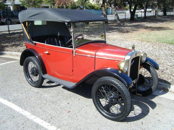 Coche Austin 7 de 1922