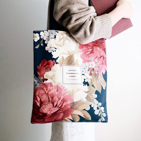 Wordsworth Tote on Etsy