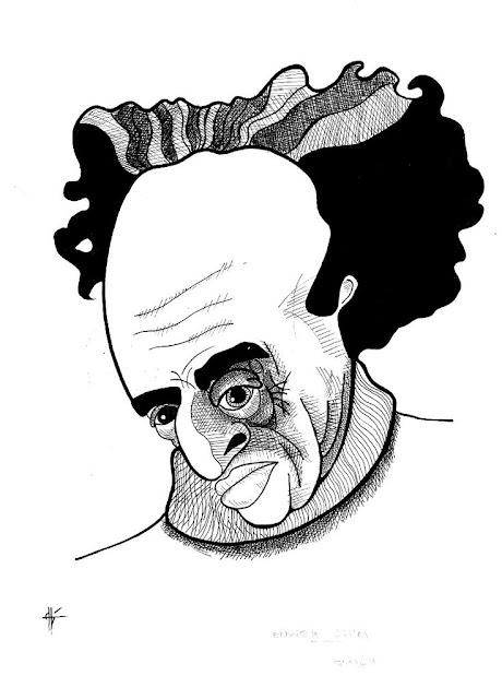 Caricaturas de Enrique Lihn