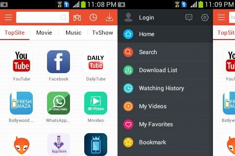 Vidmate android apk download