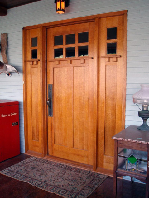 Craftsman Style Door
