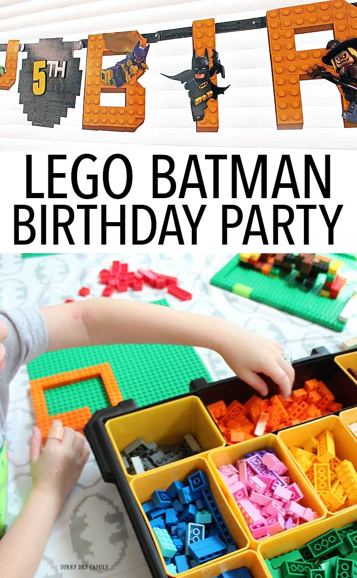 Throw an easy LEGO Batman birthday party with these awesome ideas! LEGO Batman birthday supplies, decor, and ideas your kids will love. Perfect for LEGO Batman lovers of all ages!