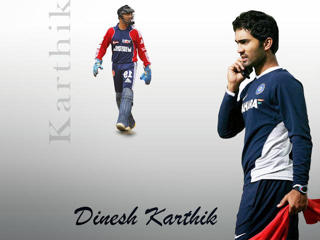 Dinesh Karthik, Wicket keeper and Batsman of Indian Cricket teamDinesh Karthik