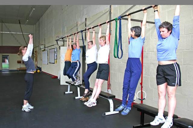 thể dục Xà đơn tăng chiều cao là cách thể thao dễ thực hiện và có thể tập bất kỳ nơi nào.