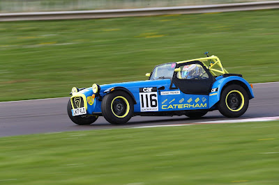 On Three Wheels at Castle Combe Test Day