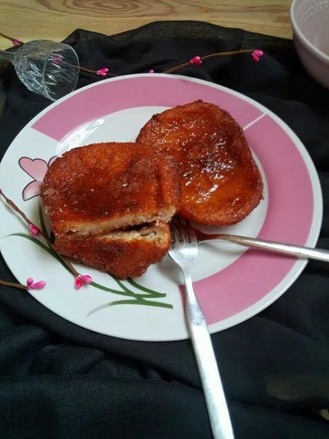 torrijas leche semana santa repostería frita sartén cuaresma azúcar canela tradicionales pascua desayuno merienda postre mamá sencillas ricas jugosas
