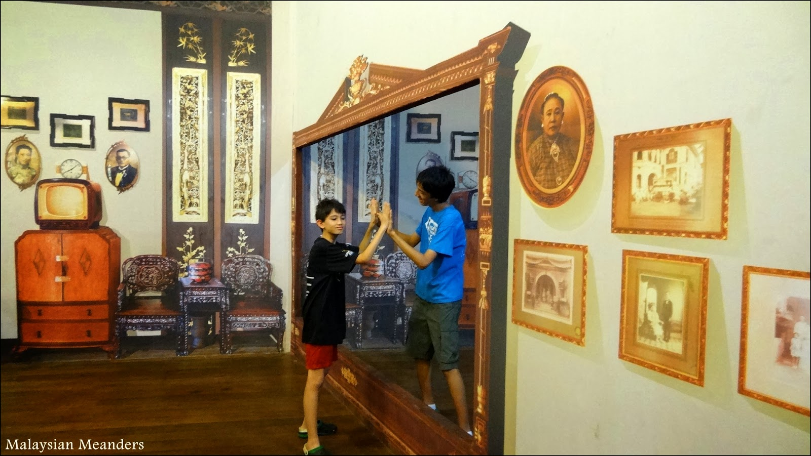 Made in Penang Interactive Museum, 3D art