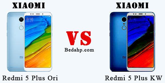 Cara Membedakan Xiaomi Redmi 5 Plus Asli dan Palsu (Replika)