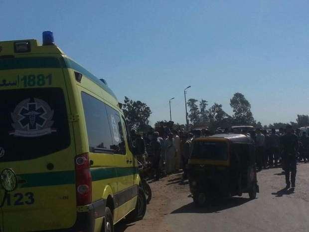 إصابة 3 من ميت غمر  في حادث تصادم
