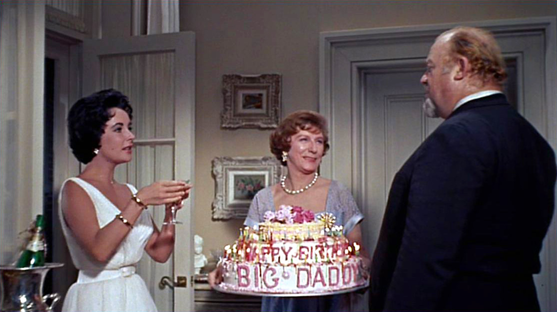 Image result for cat on a hot tin roof movie and big daddy birthday
