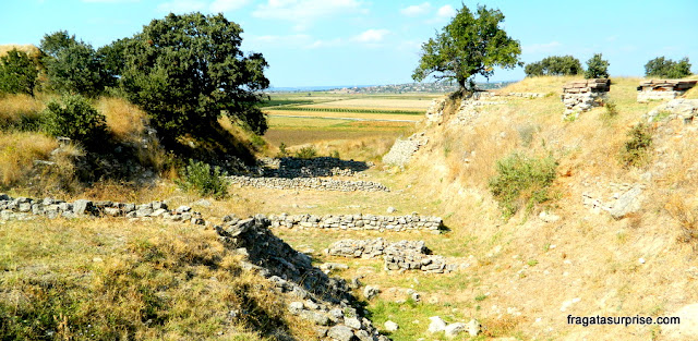Paisagem do Sítio Arqueológico de Troia
