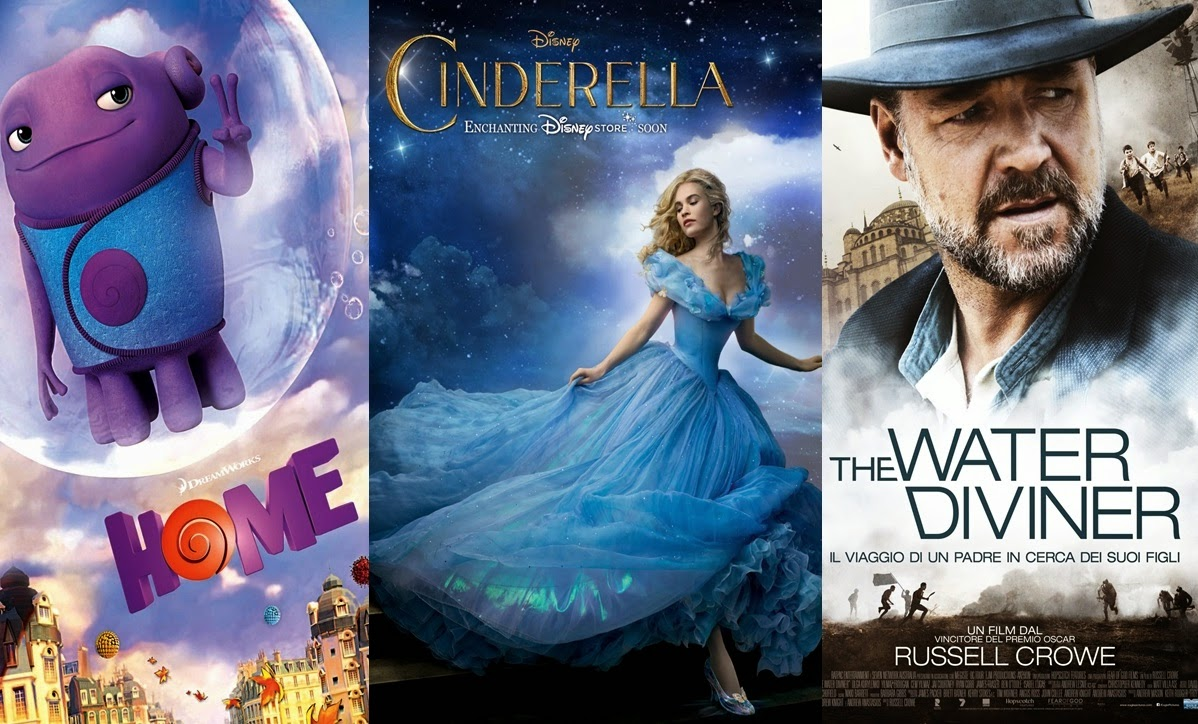Home Cinderella and The Water Diviner review
