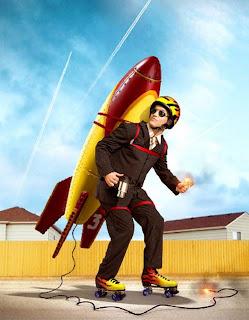 Hombre cohete