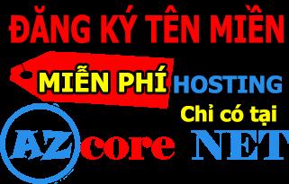 Đăng ký tên miền, miễn phí hosting