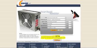 Power Supply Calculator!! {Free! PSU reccomendations also ...