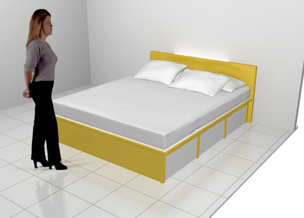 Dipan Tempat Tidur Dengan Laci Saving Space Furniture