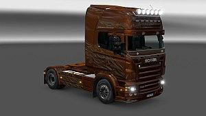 Scania RJL Black Amber