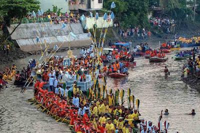 fluvial procession